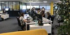 Les collaborateurs d'Axa Wealth Services ont participé au choix de décoration dans les nouveaux locaux de la société à Mérignac.