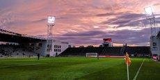 Le Stade des Costières est l'actuelle enceinte du Nîmes Olympique