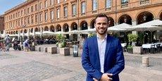 Quentin Lamotte a pour ambition de faire revenir le RN au sein du conseil municipal de Toulouse.