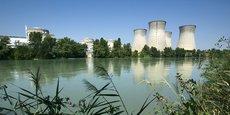 La centrale nucléaire du Bugey, sur le Rhône. En août 2018, la poussée du mercure avait contraint l'exploitant à moduler voire interrompre la production de réacteurs à Bugey, Saint-Alban et Fessenheim, pour cause de surchauffe du Rhône et du Grand Canal d'Alsace. A Bugey, une vigilance vient juste d'être levée, selon EDF.