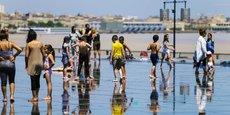 Bordeaux et son emblématique Miroir d'eau, site le plus visité de la ville