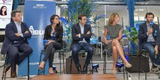 François Lafont, Julie Peitregnet, Mathieu Llorens, Mathilde Le Roy, Laurent Calando.