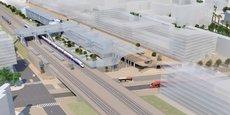 La future gare Nice Aéroport permettra de désengorger la gare Nice-Thiers