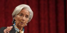 La directrice du FMI, Christine Lagarde. Copyright Reuters