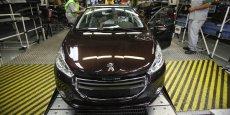 Peugeot 208 dans l'usine de Porto Real Copyright PSA