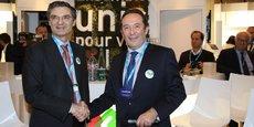 Patrick Devedjian, président des Hauts-de-Seine, et Pierre Bédier, président des Yvelines.