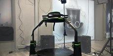 Le Nautilus propose plusieurs types d'expériences en réalité virtuelle alliant casques, lunettes, mais aussi simulateurs.