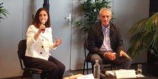 Sandra Vernier, DG de Montpellier Events, et Philippe Saurel, maire de Montpellier