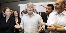 Beppe Grillo. Copyright Reuters