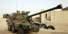 Char de l'armée française à Tombouctou / Reuters