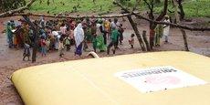 Très sollicitée par les ONG, Labaronne Citaf est particulièrement engagée auprès de Solidarités International.