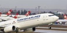 Turkish Airlines se développe aussi rapidement que les compagnies du Golfe