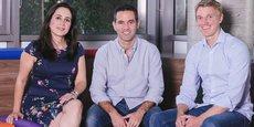 L'équipe de cofondateurs de Nubank est multiculturelle : la Brésilienne, Cristina Junqueira, directrice du développement commercial, le directeur général, David Vélez, Colombien et l'Américain, Edward Wible, directeur de la technologie.