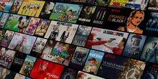 La plateforme de streaming vidéo Netflix revendique 151,56 millions de clients dans le monde.