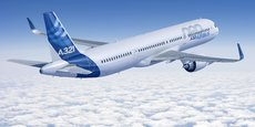 L'A321neo d'Airbus.