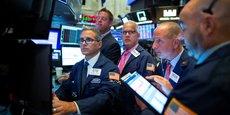 À la Bourse de New York (NYSE), hier, lundi 12 août 2019.