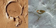 L'Islande est actuellement le terrain de jeu d'une quinzaine de scientifiques et ingénieurs envoyés par l'agence spatiale américaine car de nombreuses similitudes ont été observées entre ses paysages terrestres et ceux de la planète Mars.