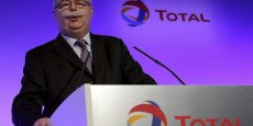 Le PDG de Total, Christophe de Margerie. Copyright Reuters
