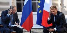 UKRAINE: MACRON SOUHAITE UN SOMMET NORMANDIE PROCHAINEMENT