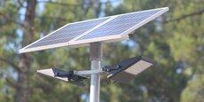 L'éclairage solaire permet une économie d'énergie 100 % étant donné que la source utilisée est naturelle et renouvelable.