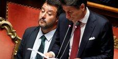 ITALIE: RENDEMENTS EN BAISSE APRÈS L'ANNONCE DE LA DÉMISSION DE CONTE