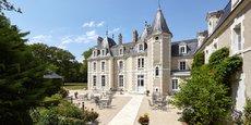 Une fois rénové le château du Breuil sera l'un des rares hôtels 5 étoiles de la région Centre Val de Loire