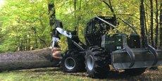 La société table aussi sur les tracteurs forestiers de type débardeur et débusqueur.