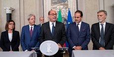 ITALIE: LE PD ESPÈRE CONCLURE UN ACCORD AVEC LE M5S