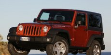Jeep Wrangler. Copyright Jeep