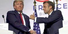 Macron en première ligne lors du dernier G7 à Biarritz.