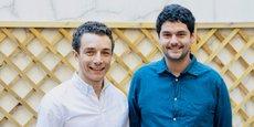 Les cofondateurs d'Upflow, Alexandre Louisy, directeur général, et Barnaby Malet, directeur technique.