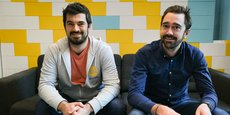 Julien Chardon et Rémy Companyo, les deux cofondateurs d'Ilek, veulent multiplier par dix leur nombre de producteurs d'ici cinq ans.