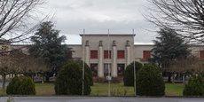 La future cité administrative remplacera d'ici cinq ans ces anciens locaux du CEAT à Jolimont.