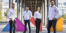 Les fondateurs d'Aive, Olivier Reynaud et Rudy Lellouche, sont épaulés par deux associés experts, Arnaud Briche et Marielle Postec.