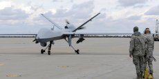 Un drone Air Force MQ-9 Reaper. Copyright Reuters