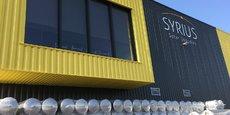 Le site regroupe l'activité d'assemblage de chauffe-eaux solaires et les bureaux,