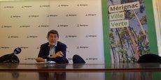 Alain Anziani, maire de Mérignac, souhaite continuer la végétalisation de la ville.
