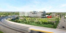 Le campus de l'IOT Valley doit accueillir 1.200 personnes dans un bâtiment de six étages.