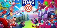 Sorti en mars 2019, FRAG, du studio parisien Oh Bibi, est déjà en passe de devenir leur plus grand succès et est en passe d'égaler les 40 millions de joueurs de leur précédent record.