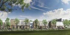 Une perspective d'un des cinq projets, à Villeneuve-Tolosane, pour lequel le groupe Duval a obtenu un permis de construire en 2019.