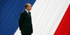 Jacques Chirac a été président de la République de 1995 à 2007.