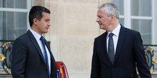 Gérald Darmanin et Bruno Le Maire ont annoncé une baisse de 5 milliards d'euros pour les ménages les plus modestes.