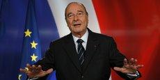 Jacques Chirac est décédé jeudi à l'âge de 86 ans.