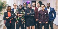 L'équipe de la startup Bizao.