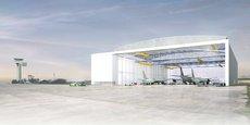 Le nouveau hangar de Châteauroux confortera la filière Aérocentre et ses 115 entreprises en région Centre-Val de Loire