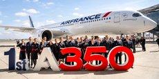 La collaboration avec Palantir a débuté sur la ligne d'assemblage final de l'A350.