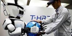 Toyota Motor Corp présente le T-HR3 troisième génération qui sera utilisé lors des jeux Olympiques de Tokyo de 2020.