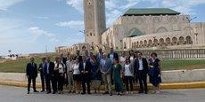 Les équipes d'EDF Occitanie et Leader Occitanie