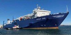 L'ÔDeep One, propriété de OFW Ships, est doté d'une technologie innovante de production d'eau embouteillée
