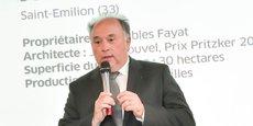 Jean-Claude Fayat, président du groupe Fayat